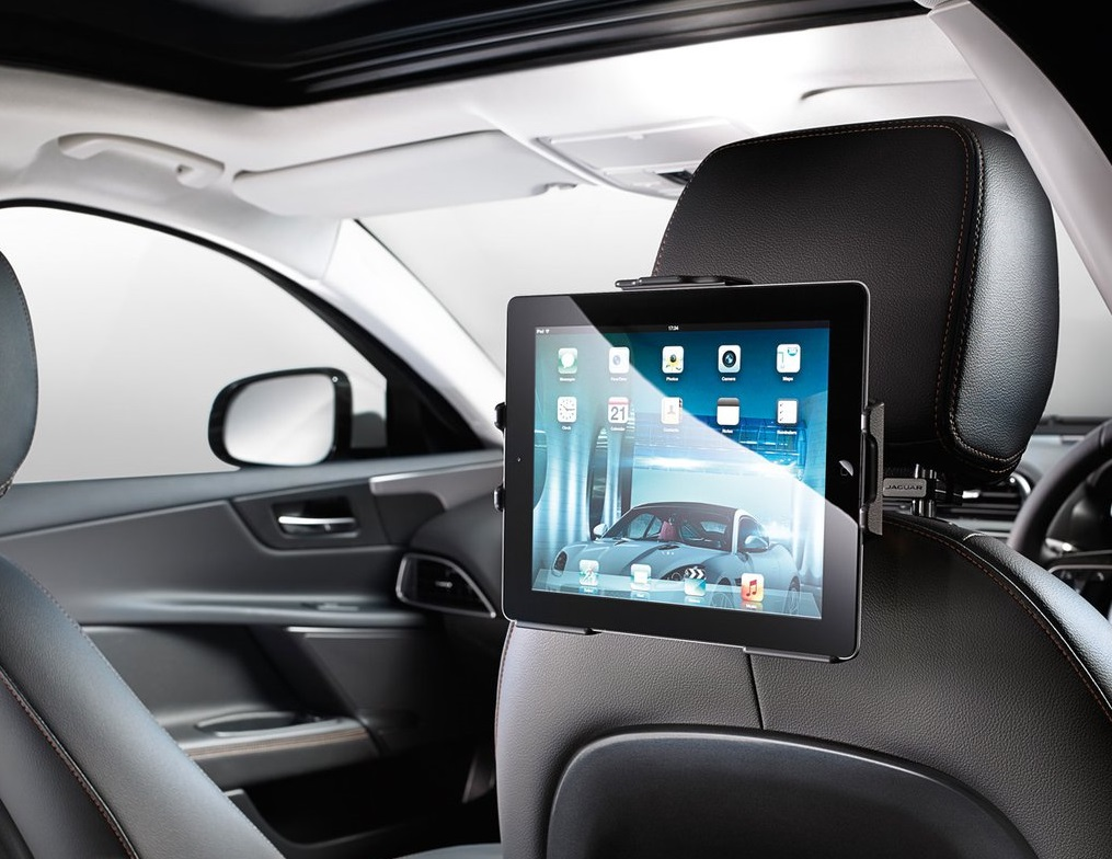 Держатель для Apple IPad 1, IPad 2, <p>IPad 3, IPad 4 | Jaguar XF