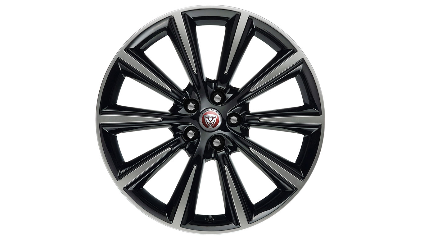 Диск колесный R19 Orbit <p>8.5J x 19 передний Black and <p>Diamond Turned | Jaguar F-Type