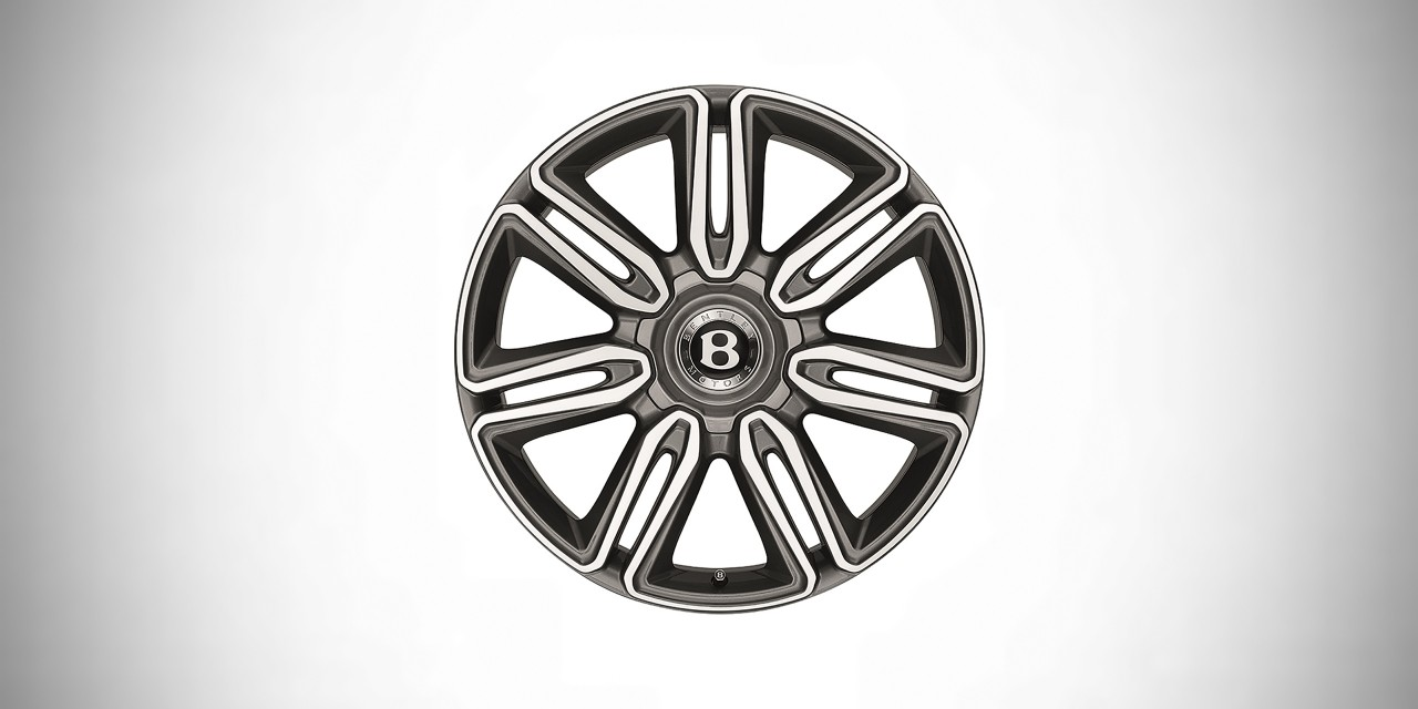 Диск колесный R21 Mulliner Graphite <p>Diamont Turned <p>| Bentley Flying Spur W12