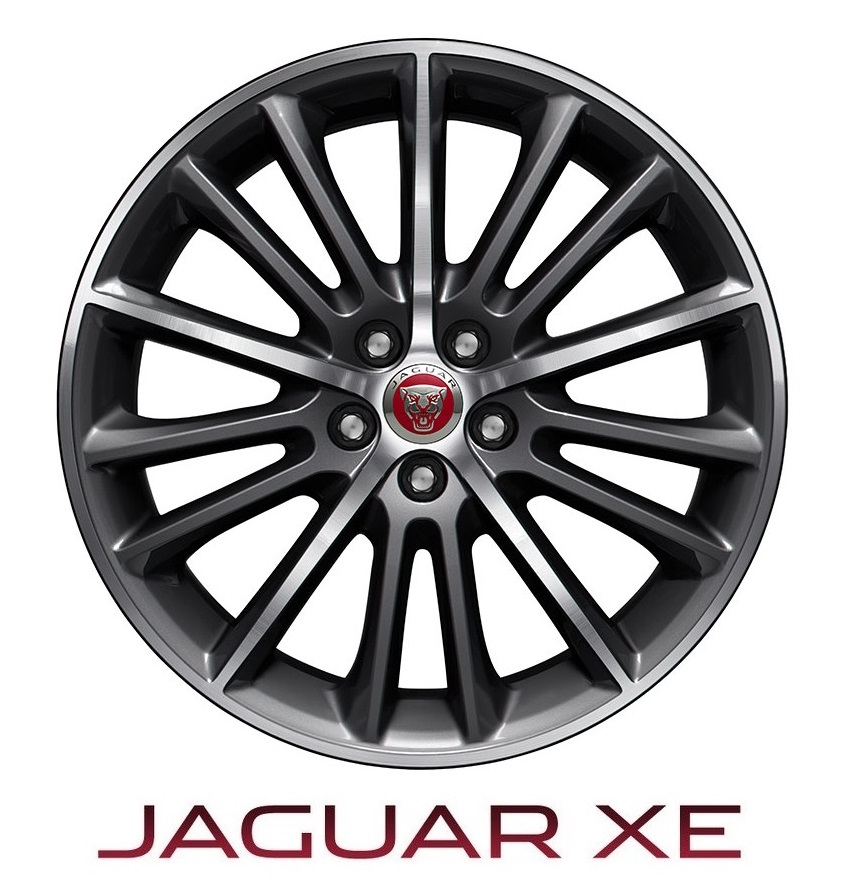 Диск колесный задняя ось R19 <p>| 15 спиц Radiance Black <p>| Jaguar XE