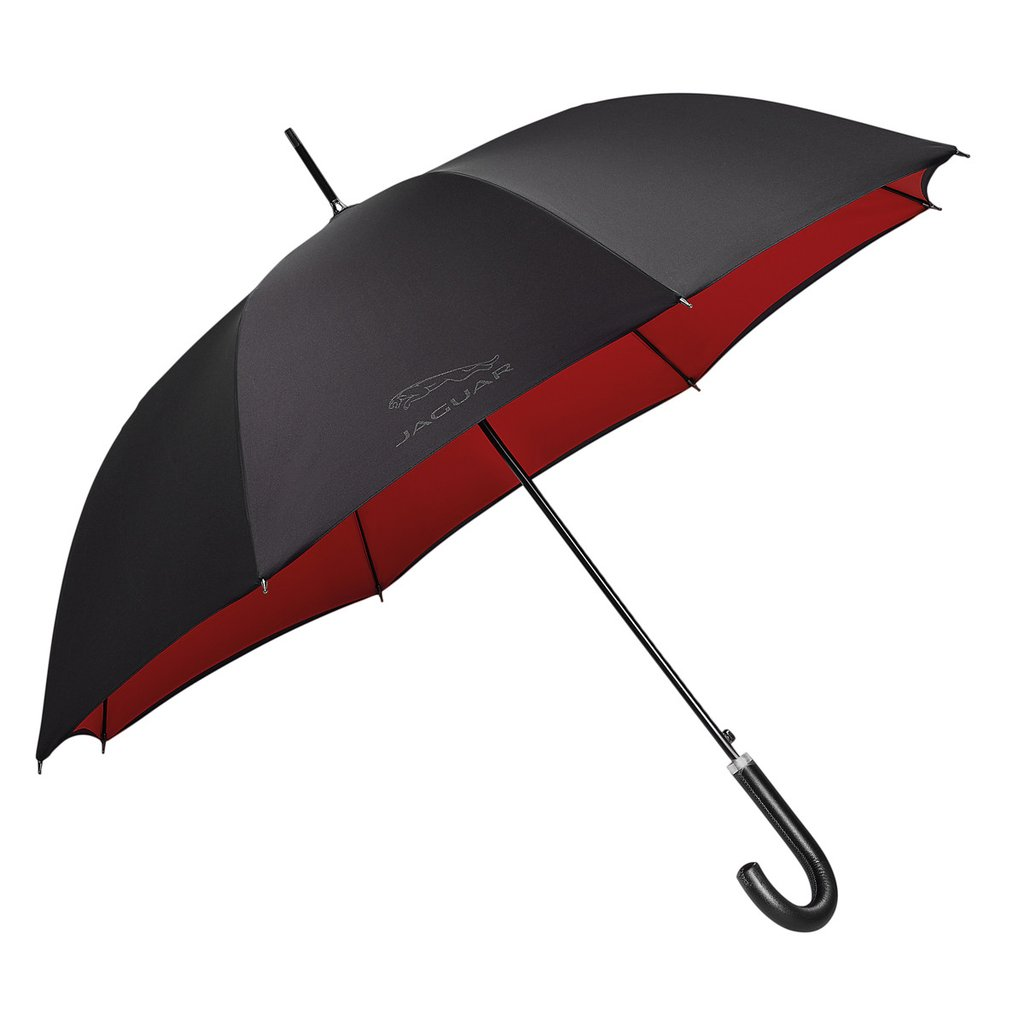 Зонт трость Jaguar Golf Stick <p>Umbrella, | Black Red